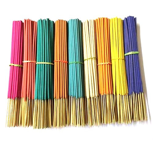 MULTI COLOUR INCENSE STICKS