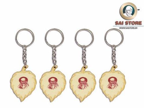 Sai Wooden Keychain ( Sai Photo)