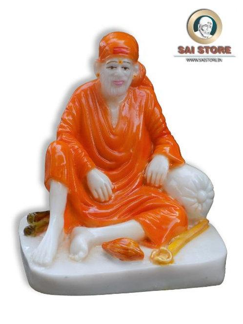 Sai Baba Dwarkamai Statue No. 3 ( In colours)