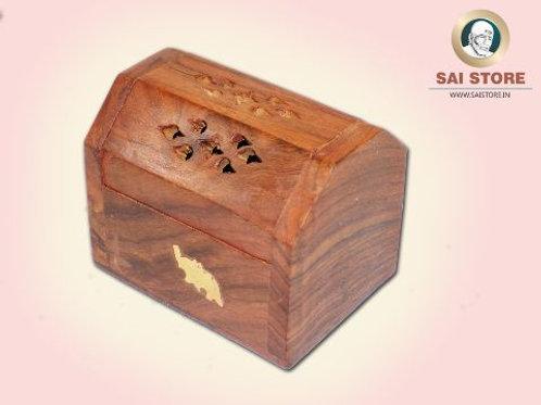 Wooden Handcraft Dhoop Batti Case