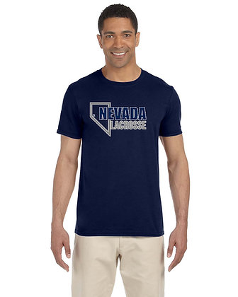 UNR Lacrosse Adult Softstyle® 4.5 oz. T-Shirt