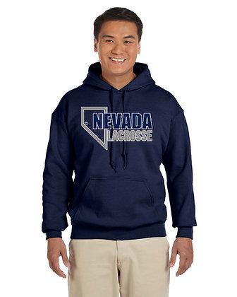 UNR Lacrosse Hoodie Sweatshirt