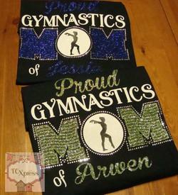 proud gymnastics mom
