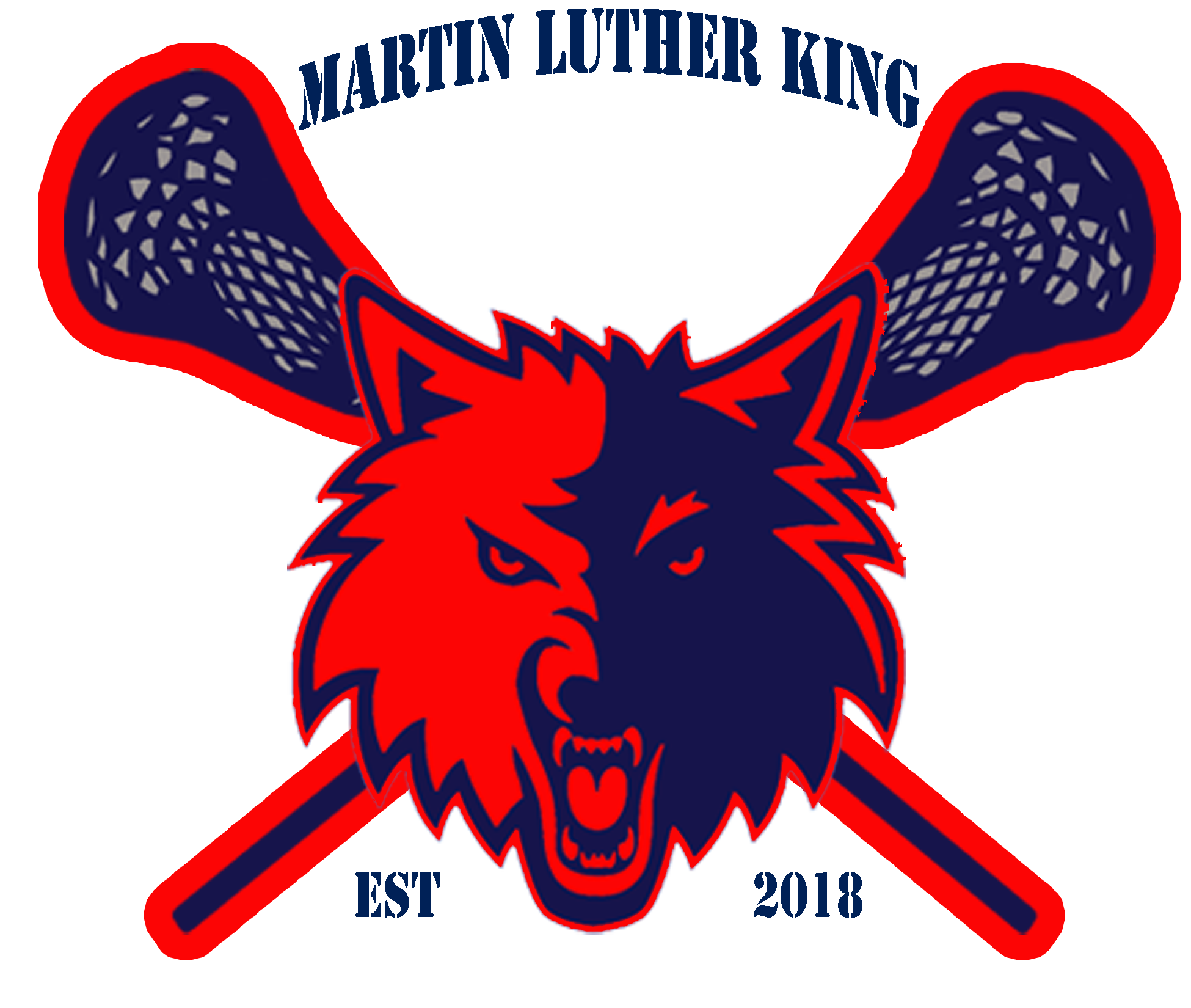 MLK LOGO lax 2 color