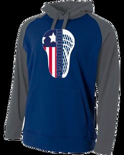 navy gray sweatshirt