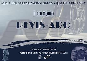 II Colóquio Revis- Arq