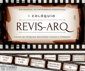 I Coloquio Revis-Arq Rio de Janeiro 2017