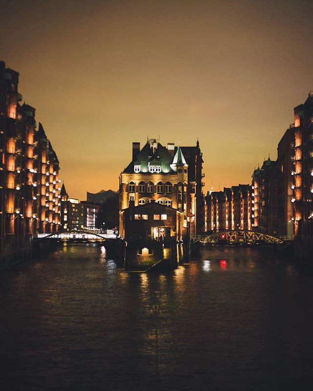 The old Hafencity. A port that is not used anymore