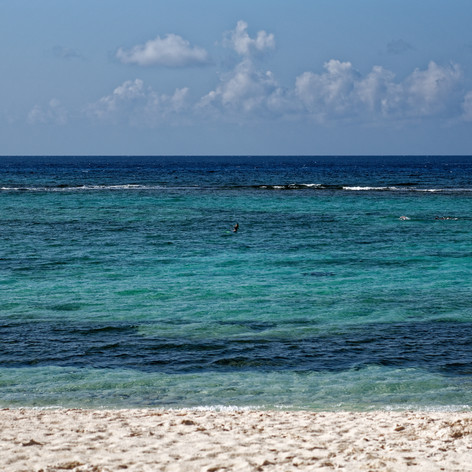 Turquoise Blue Water