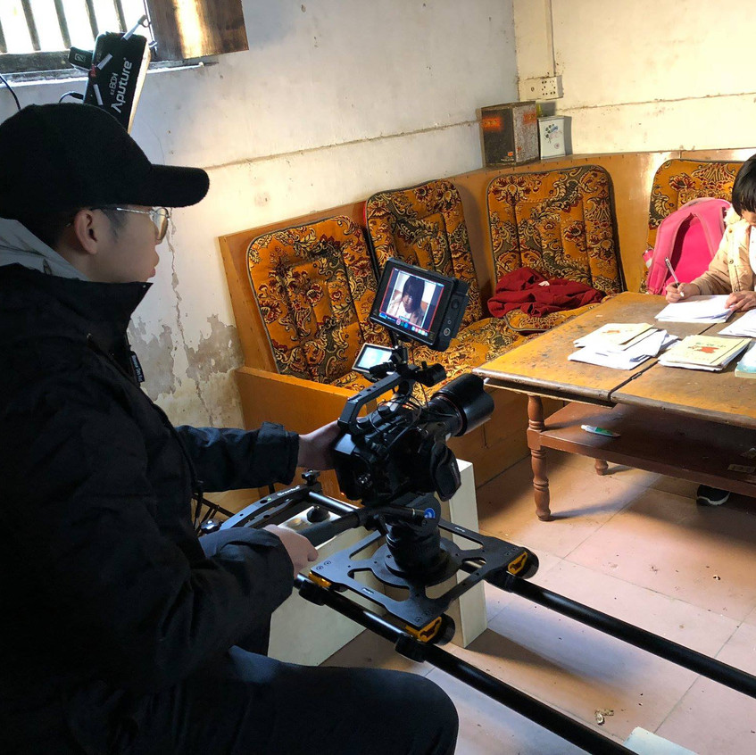 We shot most of the film on the Panasonic EVA1 in ProResRAW on the Atomos Shogun Inferno.