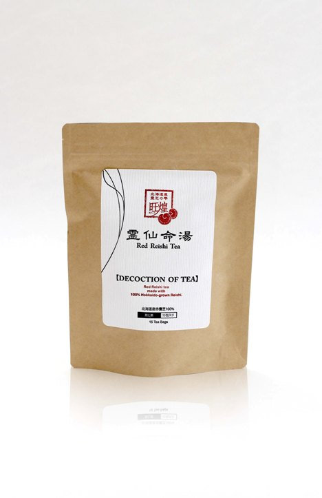 Tea Decoction Red Reishi 15bags Craft pack