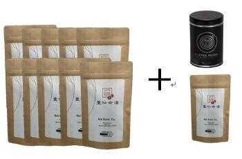Organic Red Ganoderma Reishi Teabags 15 BUY 10 GET 2