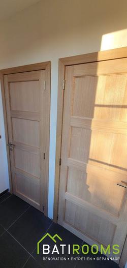 Placement portes