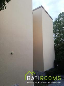Réfection façade et mise en peinture