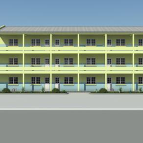 ANTSIRABE : Extension du Collège et du Lycée