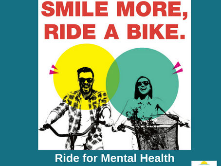'Smile More' Bike Ride to highlight mental health awareness