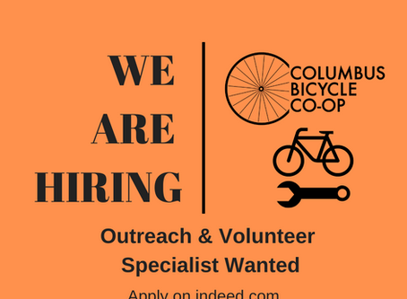 We are hiring: Outreach & Volunteer Specialist