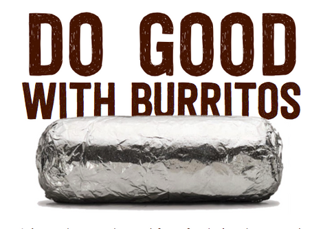 *POSTPONED* Eat at Chipotle on May 4th to support the Co-op