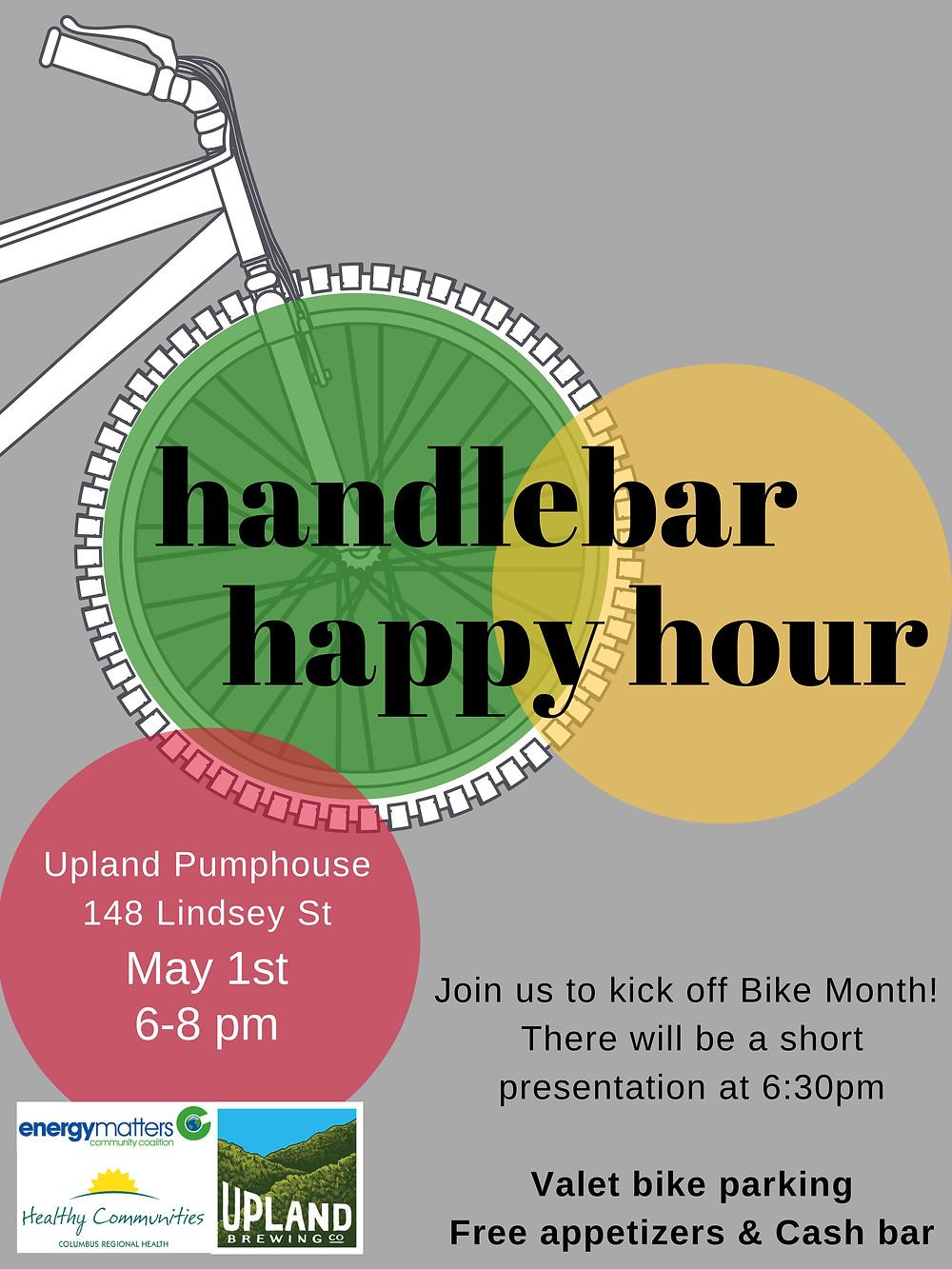 Handlebar Happy Hour poster