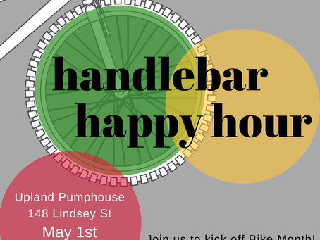 Handlebar Happy Hour on May 1st