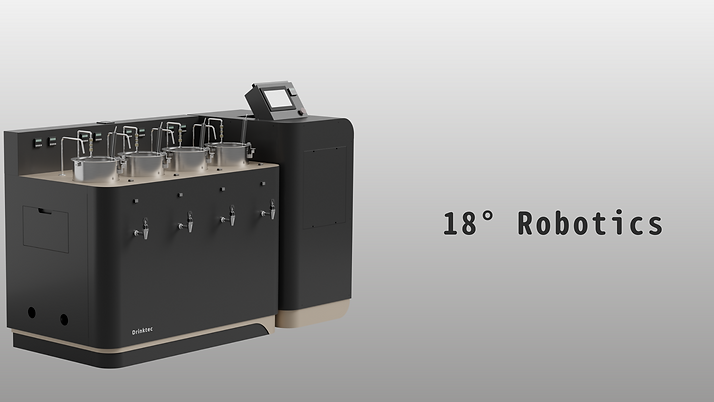 18° Robotics Auto-Tea cooker 智能煮茶機 Drinktec