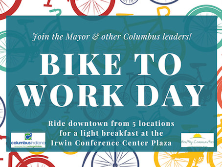 Join the Mayor and other leaders for Bike to Work Day on May 16th
