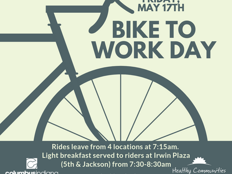 Bike to Work Day is May 17th