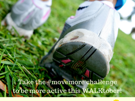 #MoveMore Challenge for WALKtober