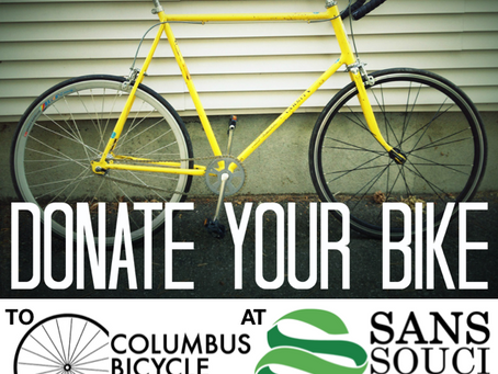 Donate to the Bike Co-op at Sans Souci
