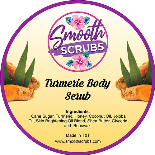 Turmeric Face and Body Scrub