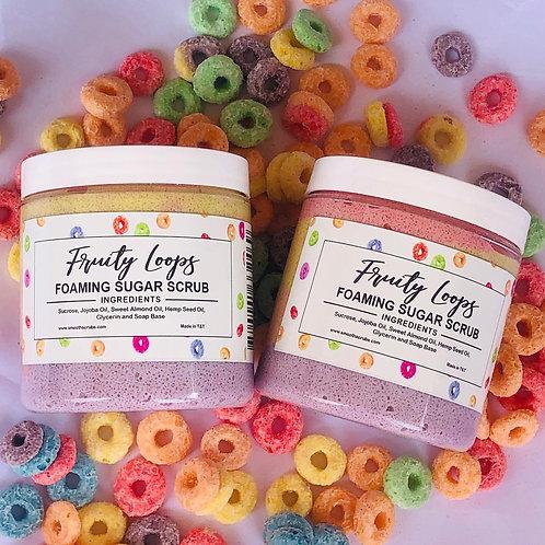 Fruity Loops Foaming Sugar Scrub 8oz