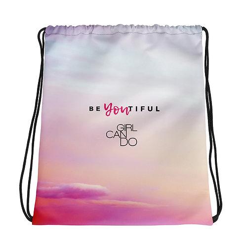 beYOUtiful Drawstring bag