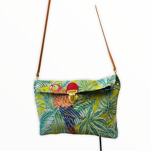 Petit sac bandoulière Perroquet