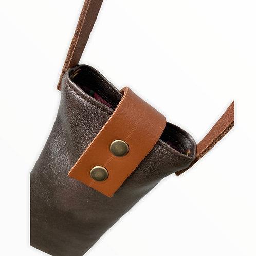 Pochette en bandoulière pour téléphone en simili
