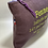 Thumbnail: Pochette humour lin violet femme