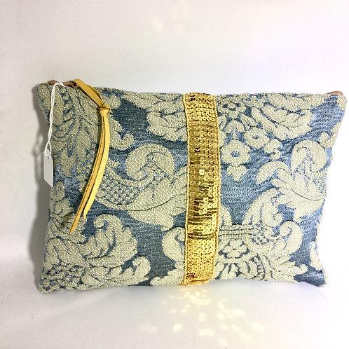 Pochette de sac tapisserie/ paillette