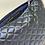 Thumbnail: Pochette de sac en simili matelassé marine