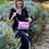 Thumbnail: Petit sac Justine toile Ravel Rose