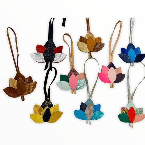 Bijoux de sac en cuir