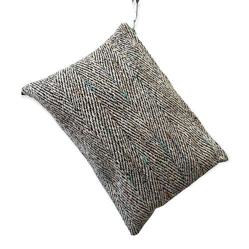 Jolie pochette de sac tissus chiné
