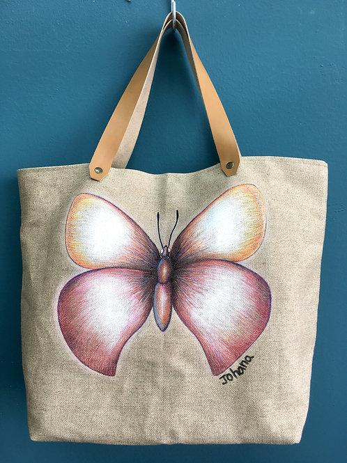 Cabas XL papillon by Johana