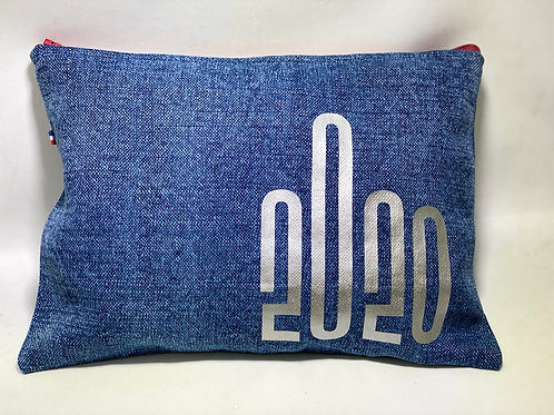 Pochette de sac humour lin jean 2020
