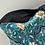 Thumbnail: Pochette de sac en velour vert/bleu