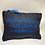 Thumbnail: Pochette de sac lin bleu conscience