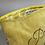 Thumbnail: Pochette humour lin jaune pretty mum