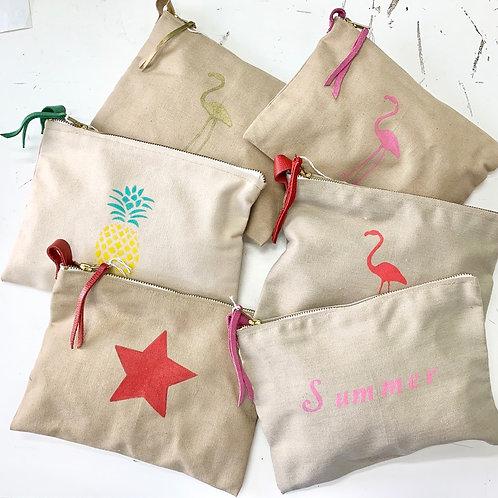 Pochette de sac en coton