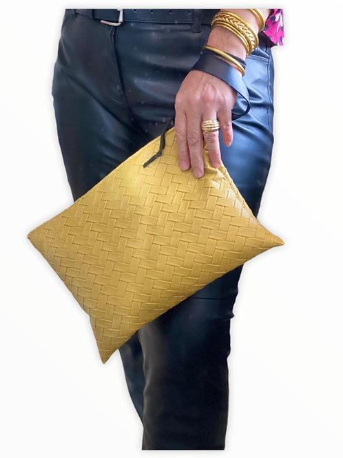 Grande pochette simili / sac bandoulière