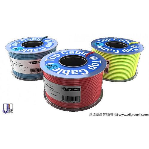 """西班牙""""TOP CABLE""""-單支單膠105̊C高溫軟線-TRI-RATED H07V2-K UL CERTIFIED"""