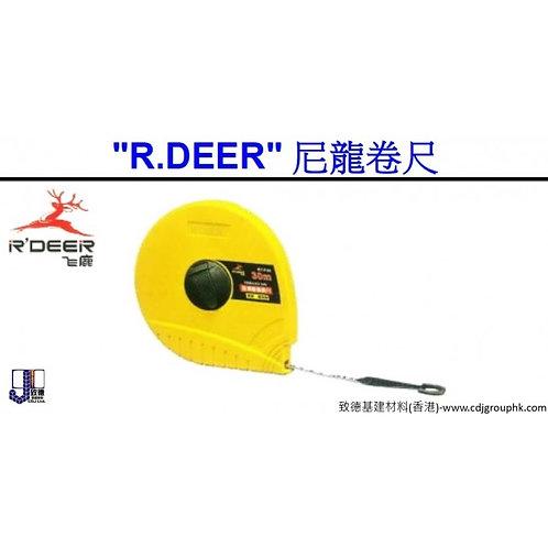 """中國""""RDEER""""飛鹿-尼龍卷尺-RODRTF"""