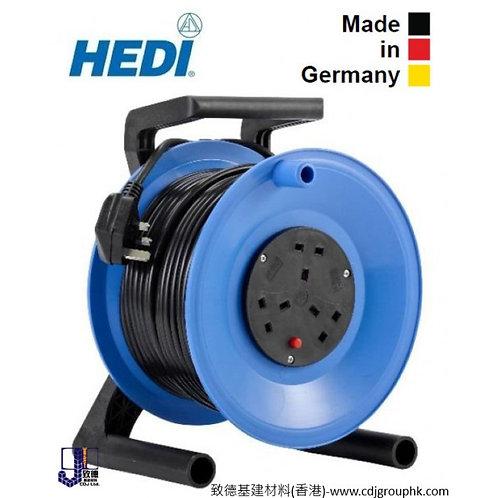 """德國名廠製造""""HEDI""""喜利牌 220V工業防水蘇電線拖轆/膠線轆/電線線轆/拖線轆/線盤線轆 (配13A-IP20防水蘇)-CW-24"""